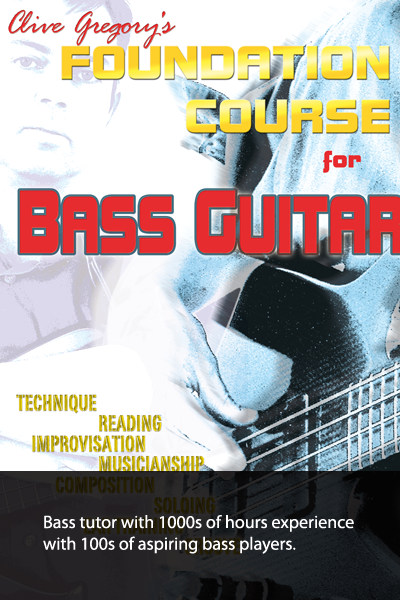 Clive Gregory - Bass tutor